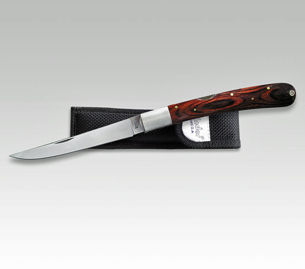 linder mega lockback knife by linder taschen messer bowie jagdmesser l330616 cutlery. Black Bedroom Furniture Sets. Home Design Ideas